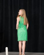 zielona sukienka