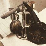 tradycyjny zestaw do golenia