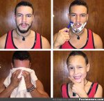 golenie zarostu